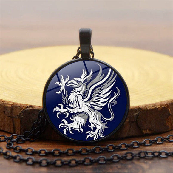 Dragon Age Gray Wardens Pocket Watch Necklace, Symbol, Logo-Fandomsky