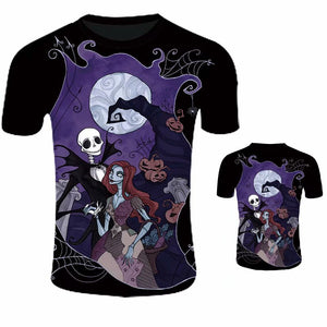 Nightmare Before Christmas T-Shirt Unisex 3D Print-Fandomsky