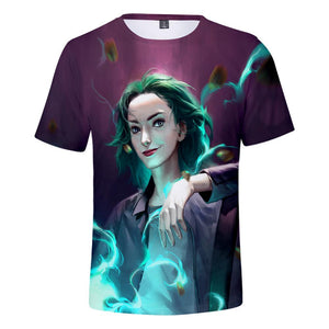 Unisex The Gifted T Shirt Cosplay Short Sleeve Tshirt Graphic Tee Tops