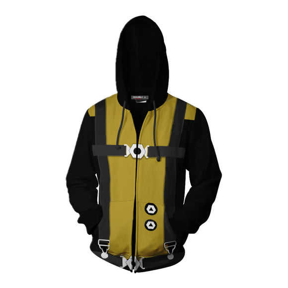 X-Men Hoodie Cosplay Costume 3D Printed Zipper Up Jacket-Fandomsky
