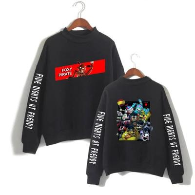 Unisex Five Nights at Freddy's Turtleneck Sweater Pullover Couple Clothing