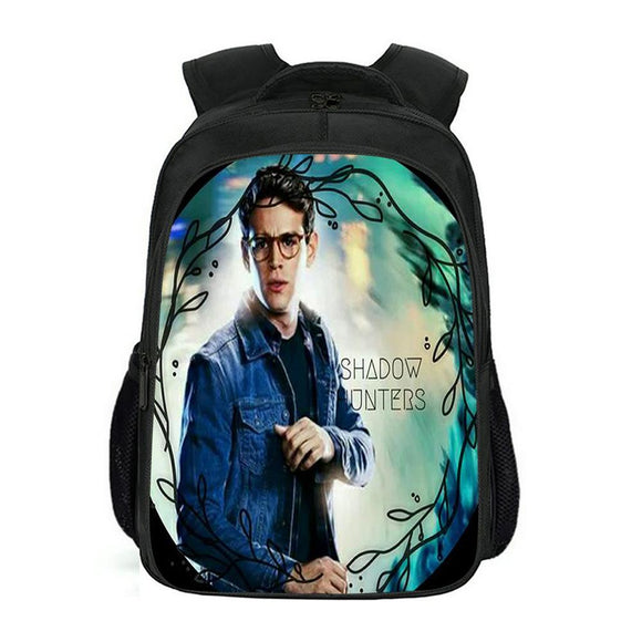 Students School Book Bag Shadowhunters Backpack Teenagers Shoulder Bags Back to School Gift