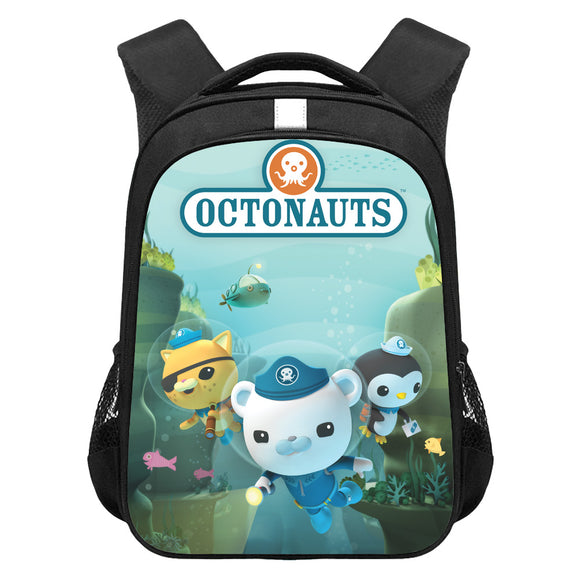 The Octonauts Digital Print Backpack Student School Bag Back To School Gift