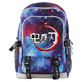 Demon Slayer: Kimetsu no Yaiba Backpack Anime Bookbag School Bags Large Travel Backpack