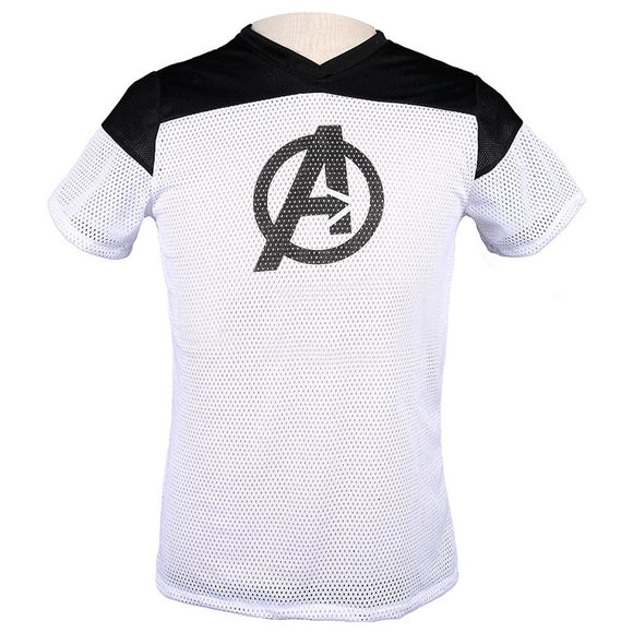 The Avengers Endgame Movie Logo Graphic T-Shirt-Fandomsky