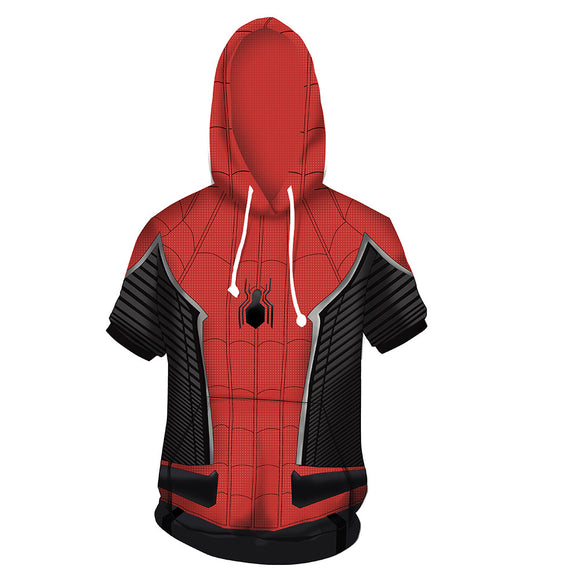 Marvel Spider-Man Into the Spider-Verse Red Icon T-Shirt-Fandomsky