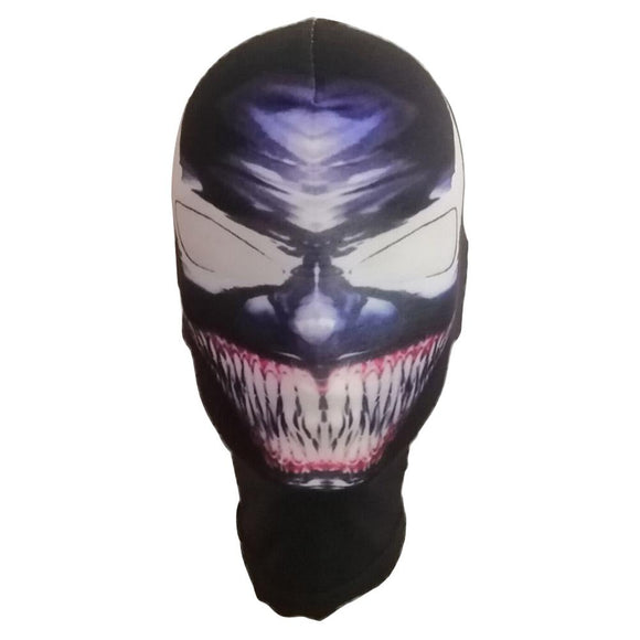 Halloween Spiderman Face The Amazing Venom Spider Man Mask Balaclava Hood Costume Cosplay Props
