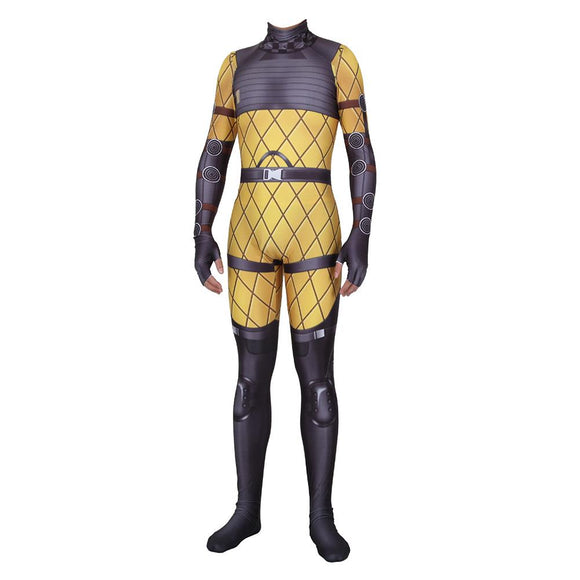 Adult Teen Halloween Game Apex Legends Mirage Cosplay Costume Zentai Bodysuit Suit Jumpsuits