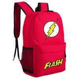 Movie DC Superhero The Flash Backpack Oxford Fabric School Travel-Fandomsky