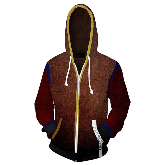 Unisex Crane Hoodies Dying Light Zip Up 3D Print Jacket Sweatshirt-Fandomsky