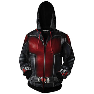 Ant Man Hoodie Super Hero Costume Creative Fashion Sweater Halloween Costume-Fandomsky