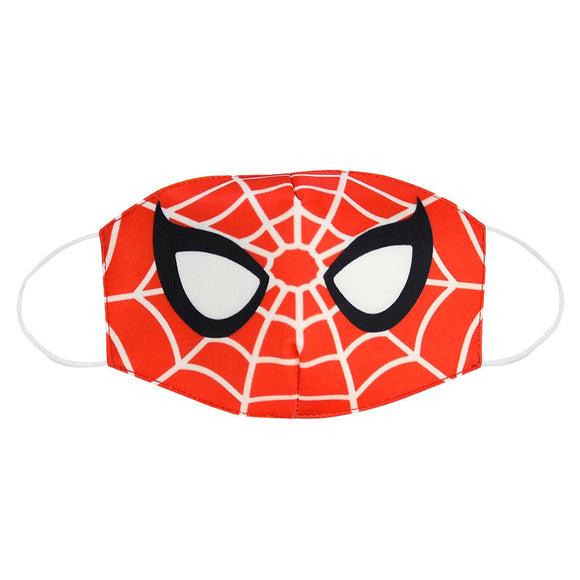 Adult Kids Spider-Man Dustproof Face Mask Washable Reusable Mouth Masks