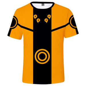 Anime Cosplay Naruto Costume T-Shirt