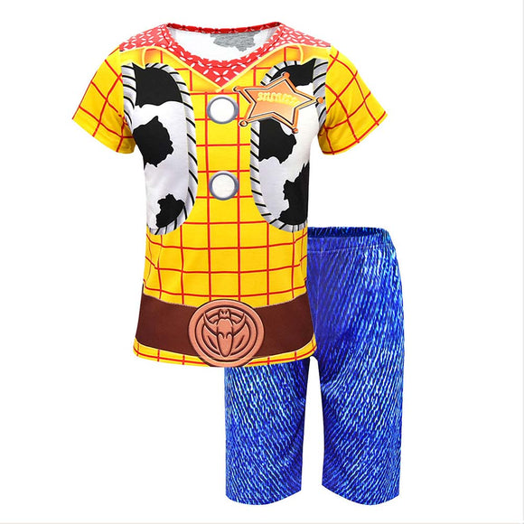 Toy Story 4 Boys T-Shirt & Shorts Woody Clothing Set-Fandomsky