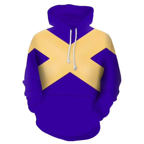 Dark Phoenix Hoodie Jean Grey Cosplay Costume 3D Printed Sweater Pullover Halloween Costume-Fandomsky