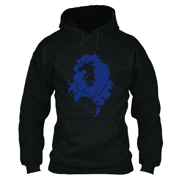 Unisex Fire Emblem Three Houses BLUE LION Hoodie 3D Print Hooded Pullover Jacket Casual Sweatshirt