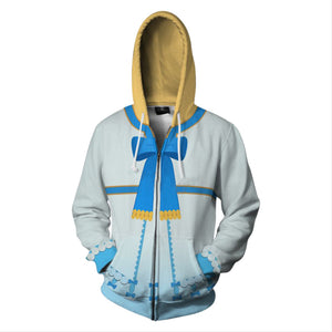 The Rising of Shield Hero Zip Up 3D Print Jacket Sweatshirt Hoodies-Fandomsky
