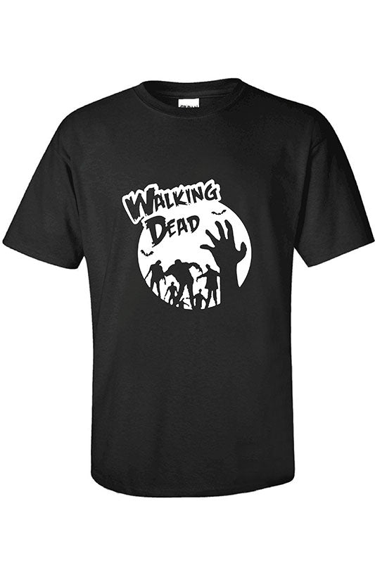 Unisex Adult Halloween T-shirt Walking Dead 3D Printed T-shirt