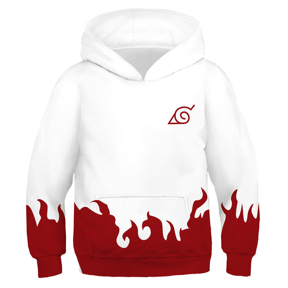 Children's Naruto Hoodie Fourth Hokage Yondaime Hokage Cosplay Costume
