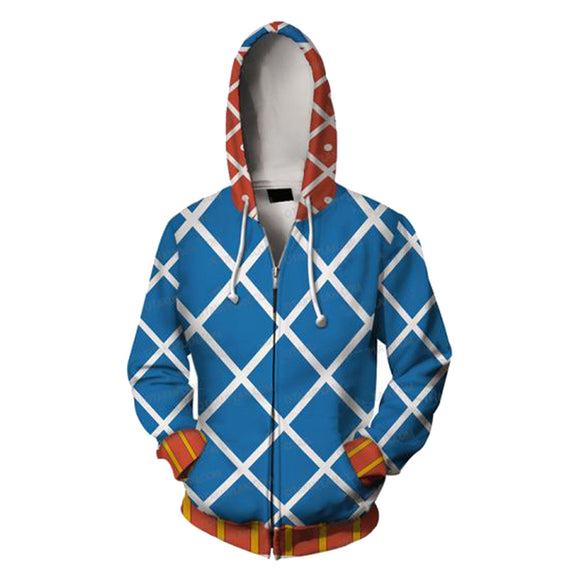 JoJo's Bizarre Adventure Hoodie Guido Mista Cosplay Costume Jacket