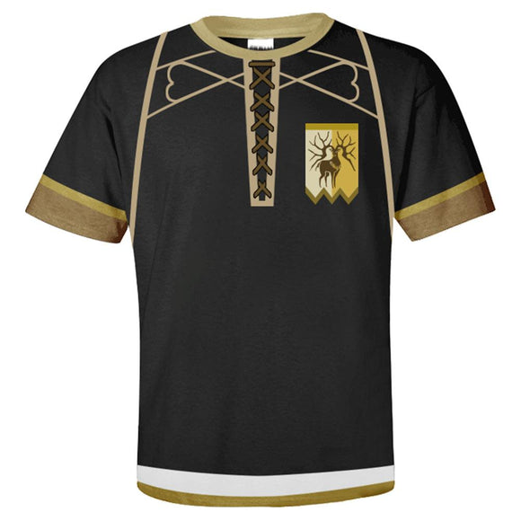 Unisex Fire Emblem: Three Houses T-Shirts Golden Deer Cosplay Costume 3D Print Casual Shirt