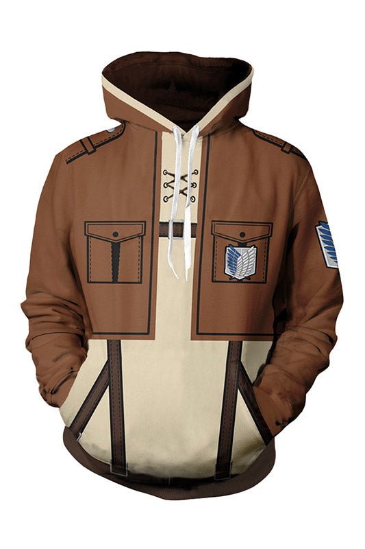 ATTACK ON TITAN HOODIE SURVEY CORPS SWEATSHIRT UNISEX-Fandomsky