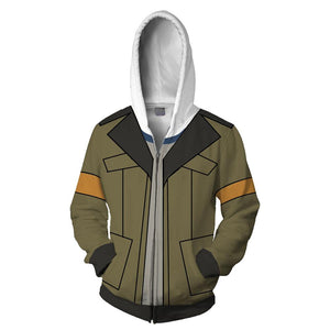 Voltron: Legendary Defender Hoodies - Lance Zip Up Hoodie-Fandomsky