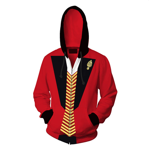 Adult Hoodie The greatest showman P.T. Barnum 3D Printed Hoodie Costume