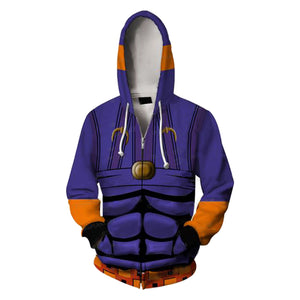 JoJo's Bizarre Adventure Kujo Hooded Hoodie Sweatshirt-Fandomsky