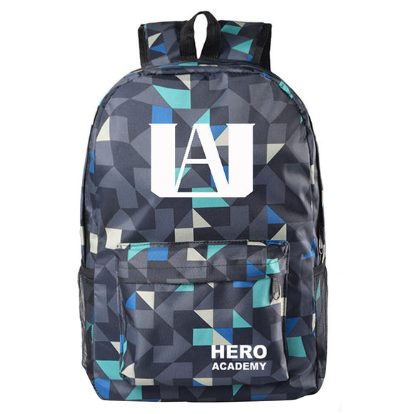 My Hero Academy U.A. High School Backpack Schoolbag Dual Shoulders Notebook Backpack
