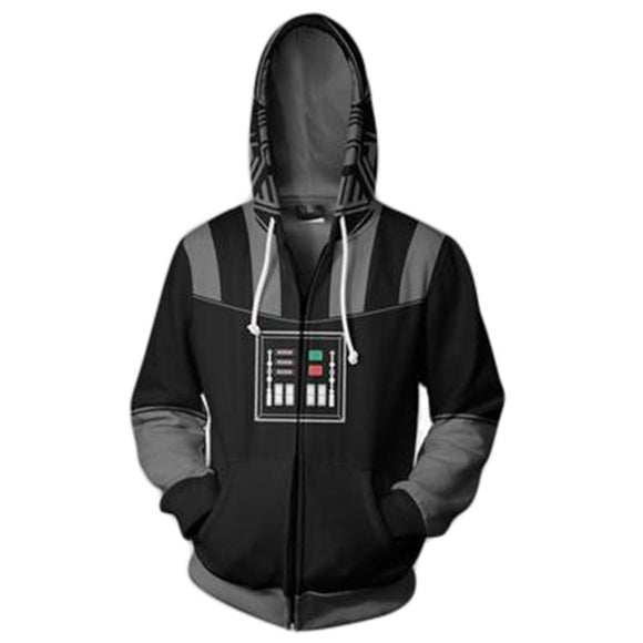 Star Wars Darth Vader Fleece Zip Costume Hoodie
