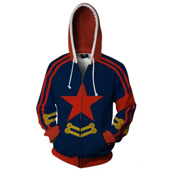 Gurren Lagann Men Long Sleeve Sweatshirts Men Hoodies Sweatershirt-Fandomsky