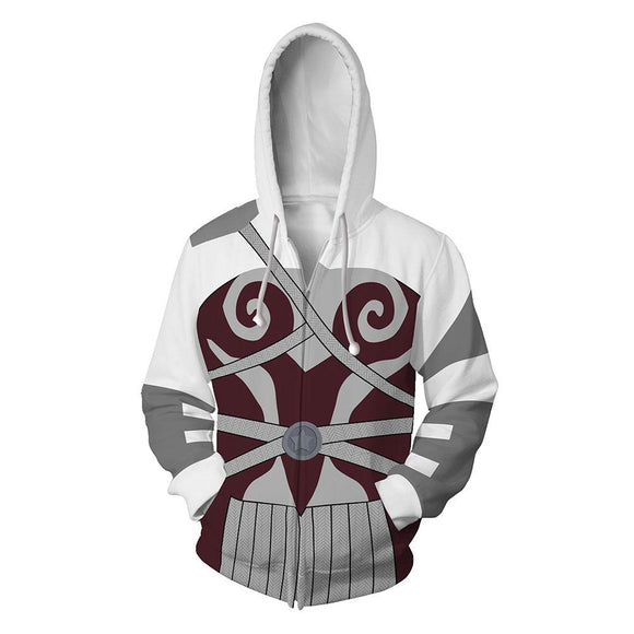 Unisex Queen Maeve Hoodies The Boys Zip Up 3D Print Jacket Sweatshirt