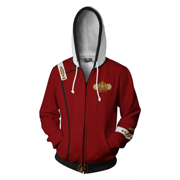 Star Trek Hoodies - Star Trek II: The Wrath of Khan Zip Up Hoodie-Fandomsky