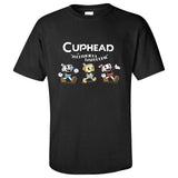 Cuphead: The Delicious Last Course Men's Short Sleeve Shirts T Shirts Tees-Fandomsky