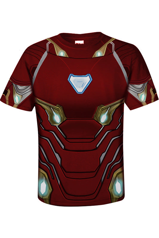The Avengers End Game Iron Man T-Shirt Uisex-Fandomsky