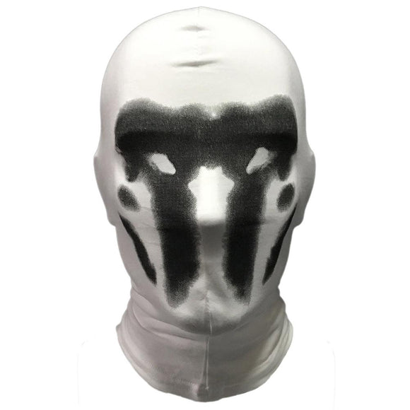 Watchmen Rorschach Mask Cosplay Costume Full Face Funny Comic Watchmen Halloween Party Cosplay Masks Props