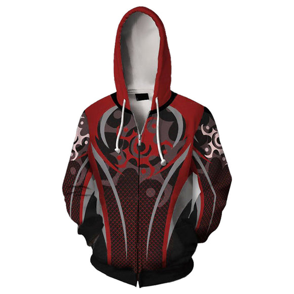 3D Print Rainbow Six Siege Long Sleeve Hoodie Zip Up Jacket Unisex