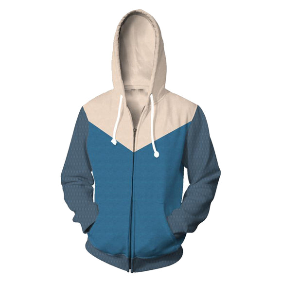 Watch Dog Hoodie Zipper Up Sweatshirt Unisex Cosplay Costume