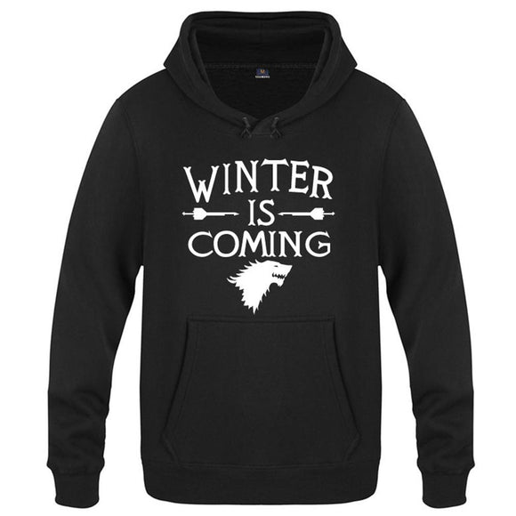 Game of Thrones - Winter is Coming Bold Print - Hoodie