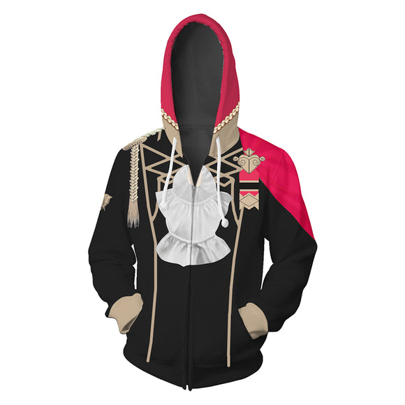 Unisex Host Game Fire Emblem: ThreeHouses Black Eagle 3D Printed Hoodie