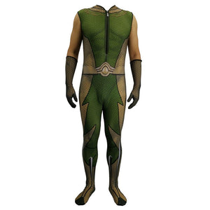 The Boys Cosplay Costumes 3D Lycra Spandex Zentai Adults The Seven The Deep Bodysuit Halloween Costumes