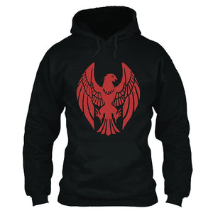 Unisex Fire Emblem Three Houses BLACK EAGLE Hoodie 3D Print Hooded Pullover Jacket Casual Sweatshirt
