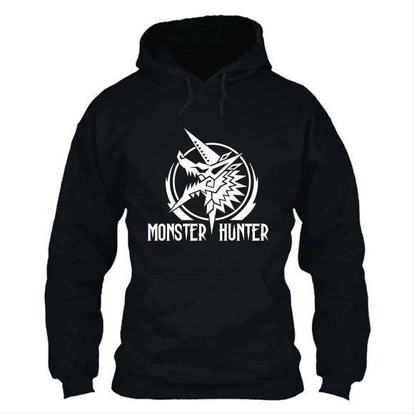 Unisex Monster Hunter: World Hoodies Zinogre Printed Pullover Jacket Casual Sweatshirt