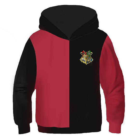 Kids Movie Hoodies Harry Potter Pullover 3D Print Jacket Sweatshirt-Fandomsky