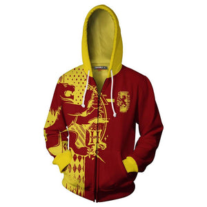 Harry Potter Toddler Fleece Hoodie Pullover Sweatshirt with Zipper-Fandomsky