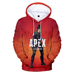 Apex Legends Wraith Hoodie Gaming Sweatshirt for Teen-Fandomsky
