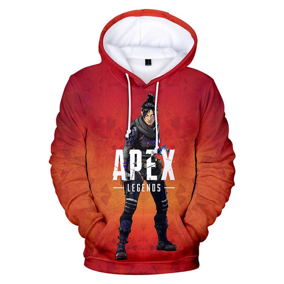 Apex Legends Wraith Hoodie Gaming Sweatshirt for Teen