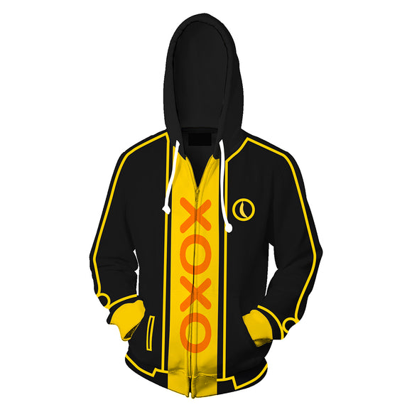 My Friend Pedro Hoodie Zipper Up Sweatshirt Unisex Cosplay Costume