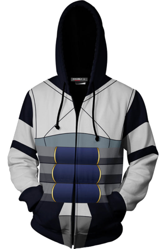 My Hero Academia Iida Tenya Hoodie Cosplay Costume Jacket Sweatshirt